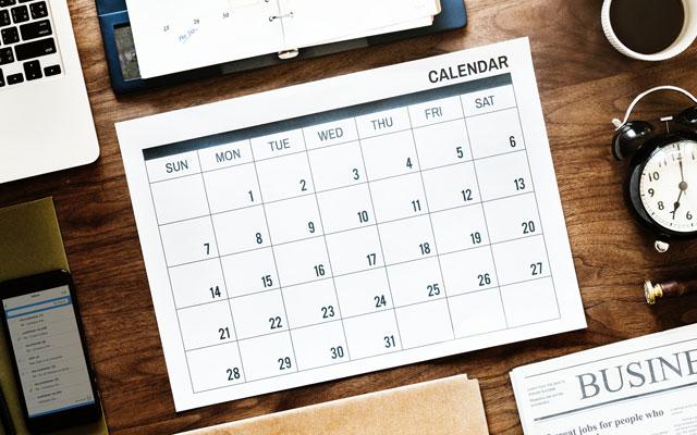 カレンダー機能