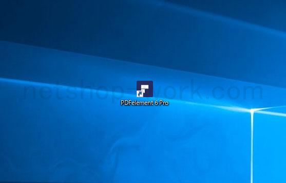 pdfelement 6 pro ショートカットアイコン